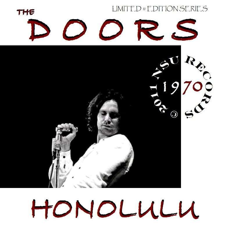 The Doors Honolulu Hawaii Convention Center 1970