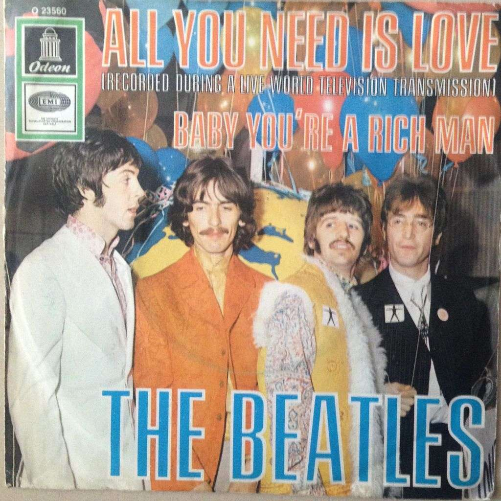 the beatles all you need is love  / baby're a rich man