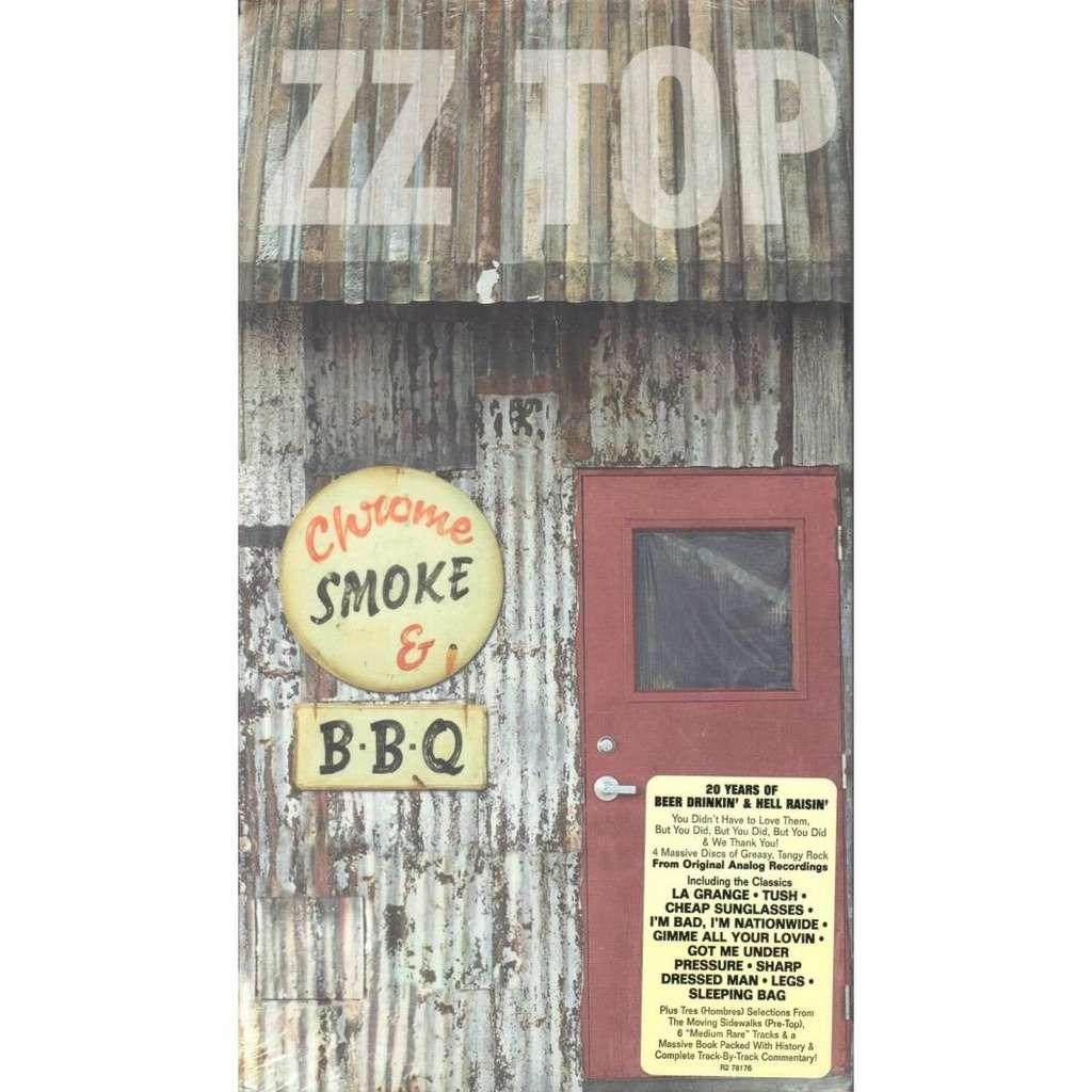 Chrome smoke & b.b.q. the zz top box by Zz Top, CD x 4 ...