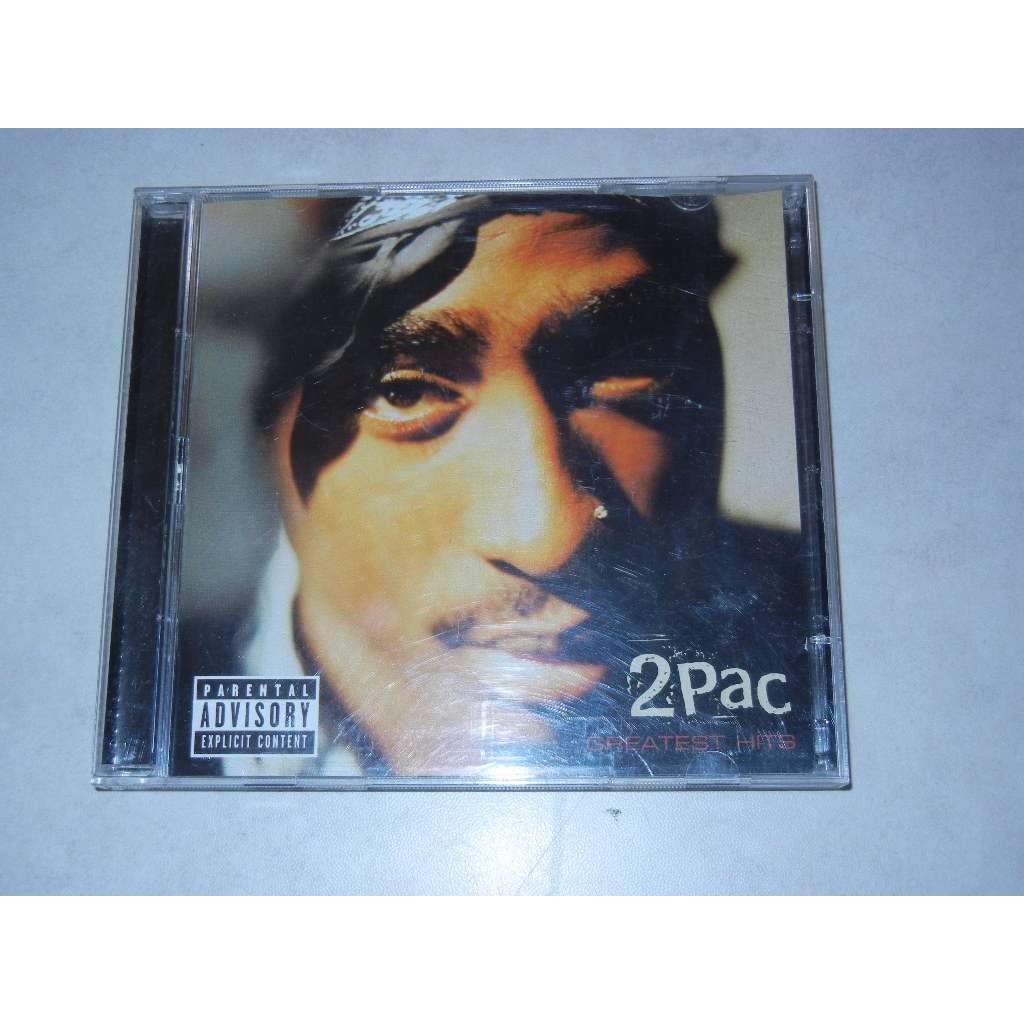 Greatest Hits By 2pac Cd With Patrickjoker Ref 117156477