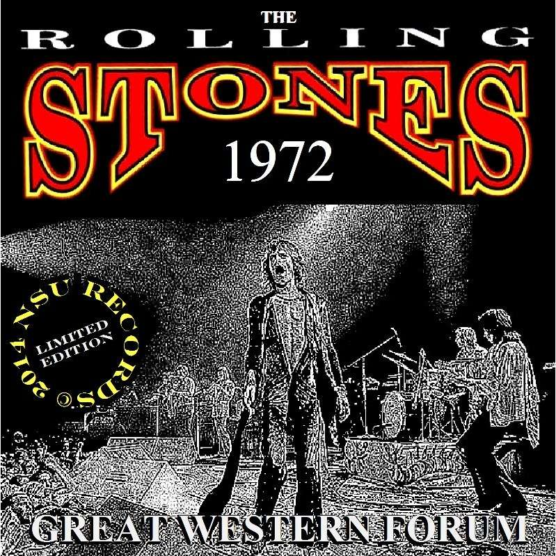 Los Angeles Forum 1972 June 11th 2cd By The Rolling Stones