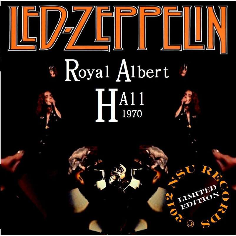 Royal Albert Hall 1970 Ltd 2cd By Led Zeppelin Cd X 2