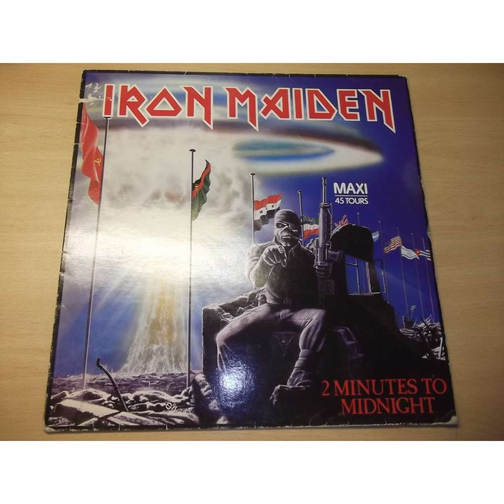 IRON MAIDEN 2 MINUTES TO MIDNIGHT/RAINBOW'S GOLD/MISSION FROM ARRY