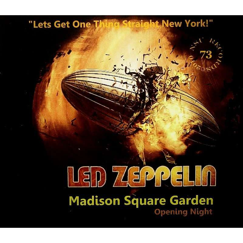 Madison square garden 1973 3cd by led zeppelin cd x 3 with zorro800 ref 117164810 for Led zeppelin madison square garden