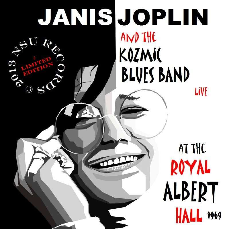 JANIS JOPLIN ROYAL ALBERT HALL 1969 04.21 LIMITED EDITION CD