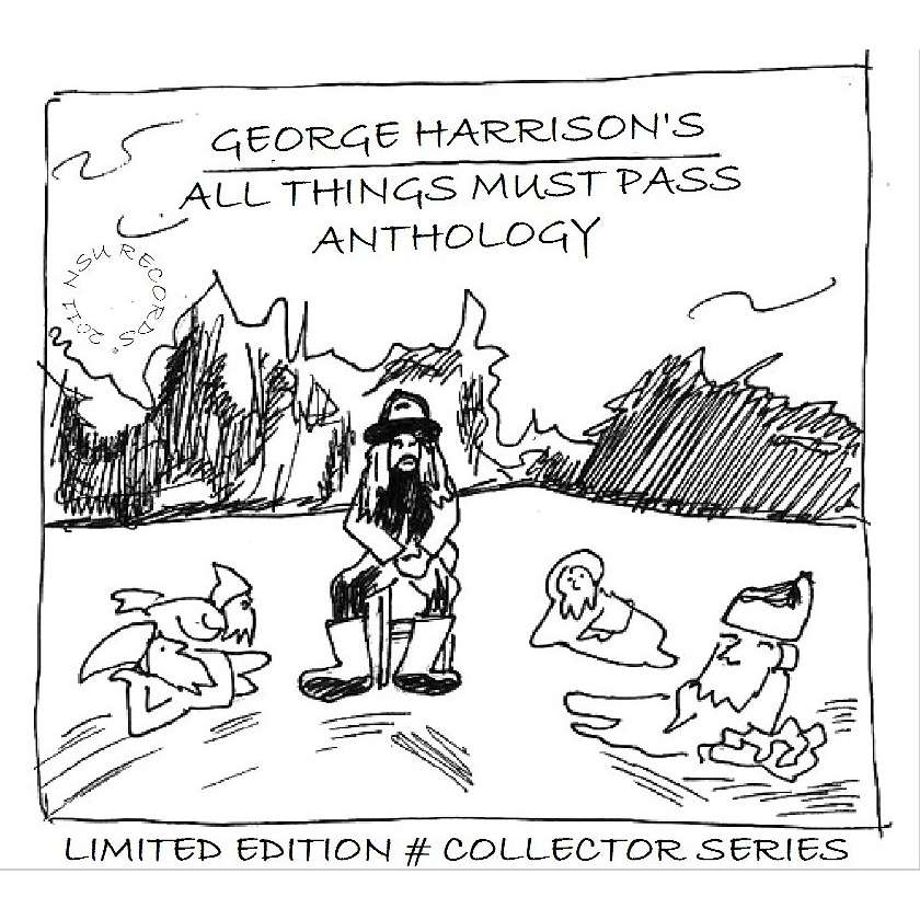 GEORGE HARRISON ALL THINGS MUST PASS ANTHOLOGY LIMITED EDITION 6CD