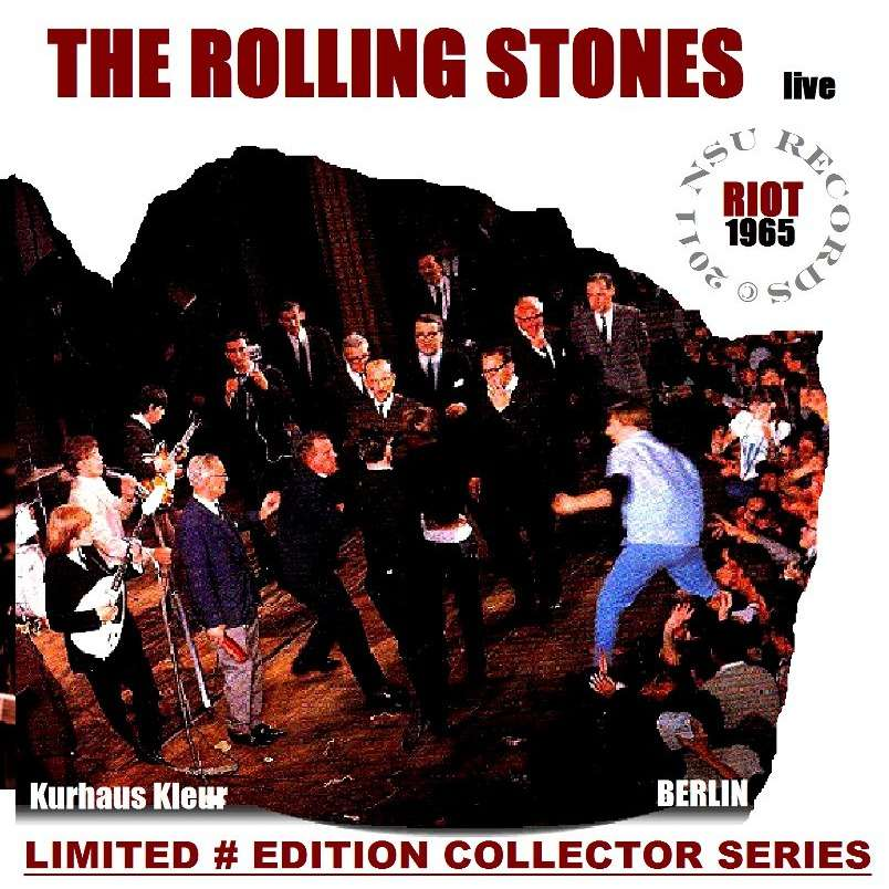 berlin riot 1965 09 15 limited edition cd by the rolling