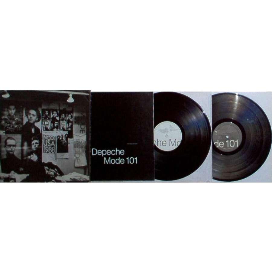 Depeche Mode 101 (Spanish 1989 17-trk 2LP gatefold ps & booklet)