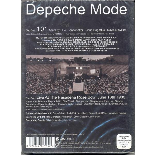 Depeche Mode 101 (Taiwan 2003 Ltd 2xDVD set unique slipcase ps)