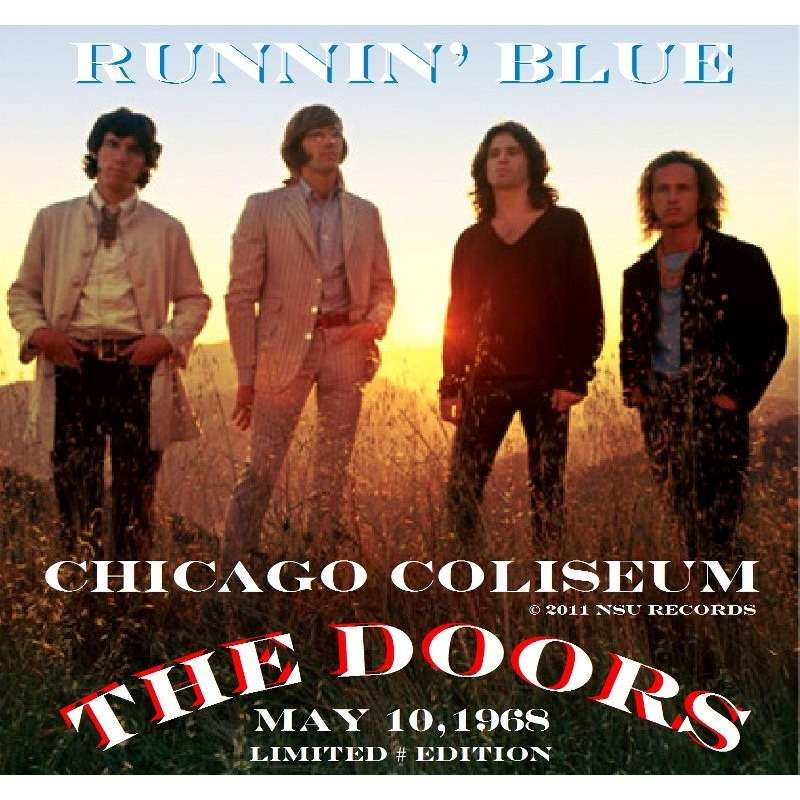 THE DOORS CHICAGO COLISEUM 1968 MAY 10TH LIMITED CD & Chicago coliseum 1968 may 10th limited cd by The Doors CD with ...