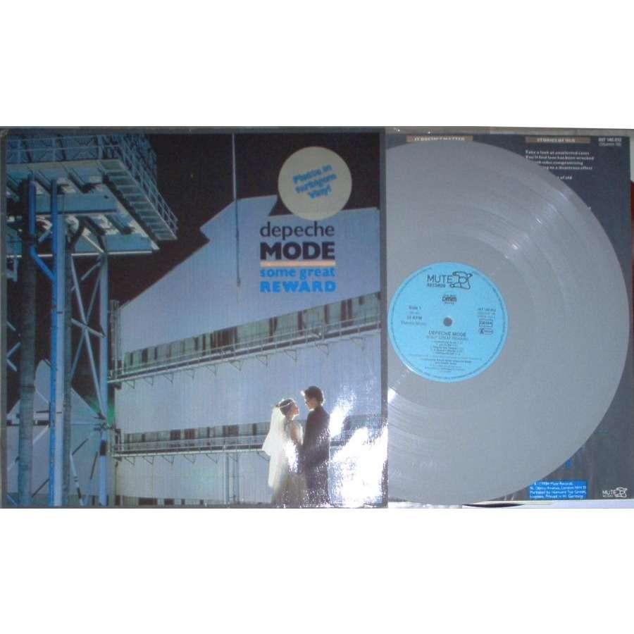 Depeche Mode Some Great Reward (German 1984 Ltd 9-trk LP GREY vinyl ps & inner slv)