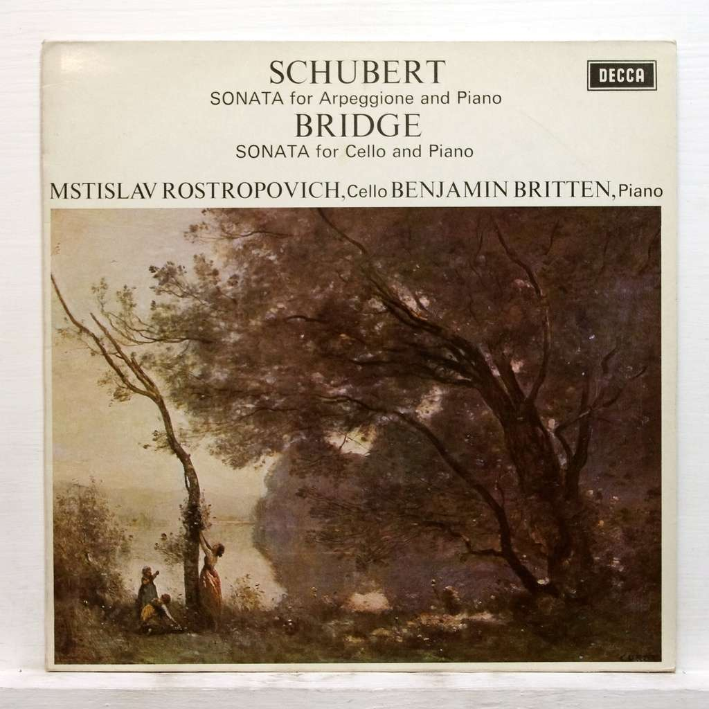 Schubert Sonata For Arpeggione Amp Piano Bridge Sonata