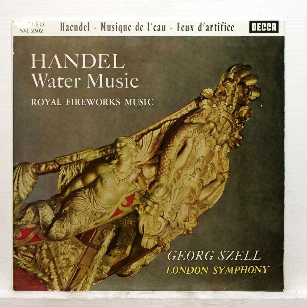 Handel : water music royal firework music by Georg Szell, LP with ...