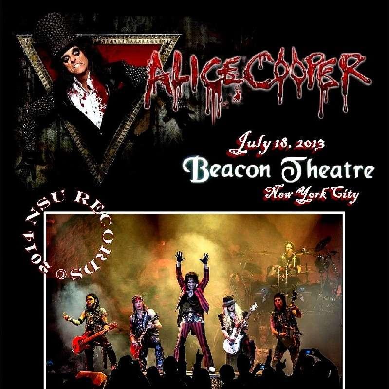 ALICE COOPER BEACON THEATER 2013 JULY 18TH 2CD