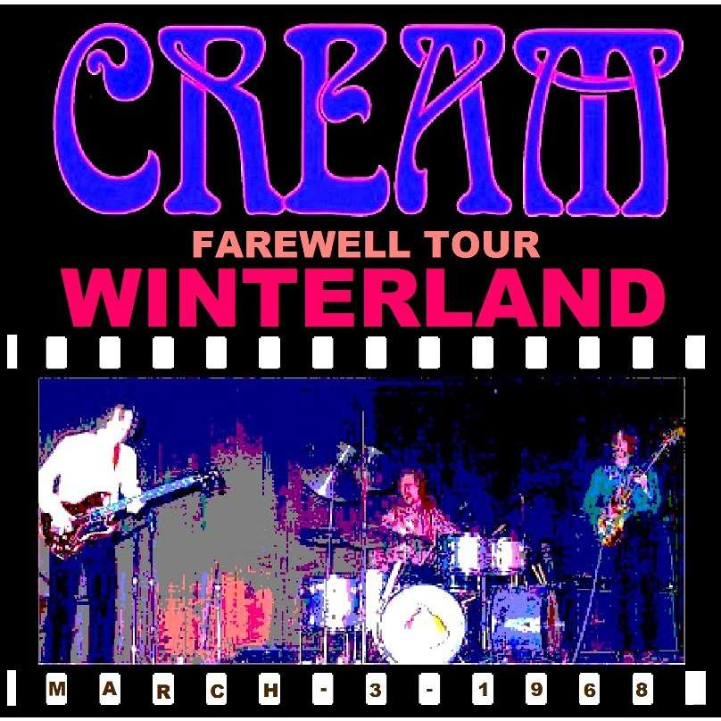 Farewell At Winterland 1968 03 03 2 Cd By Cream Cd X 2