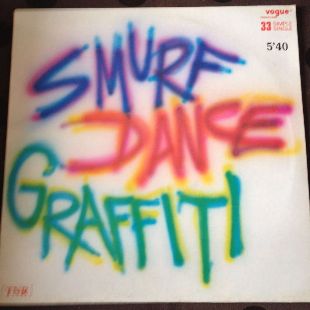 graffiti smurf dance