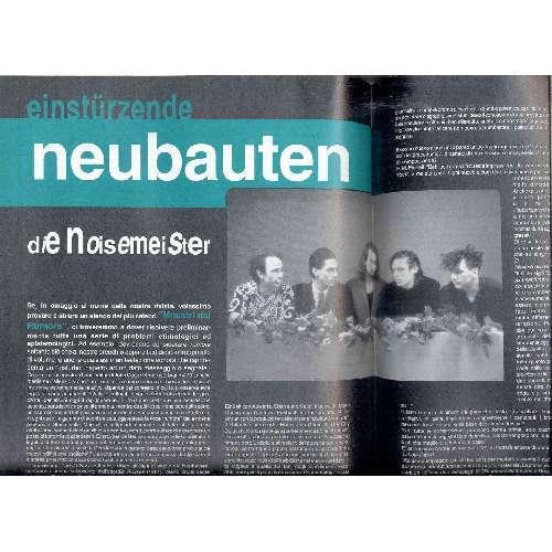 Einsturzende Neubauten RUMORE(N.12 FEB. 1993)(ITALIAN 1993 MUSIC MAGAZINE)