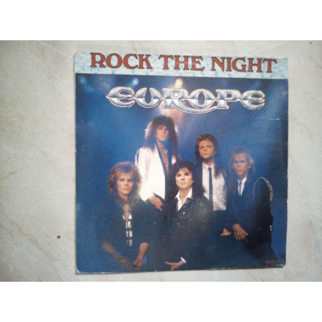 europe rock the night