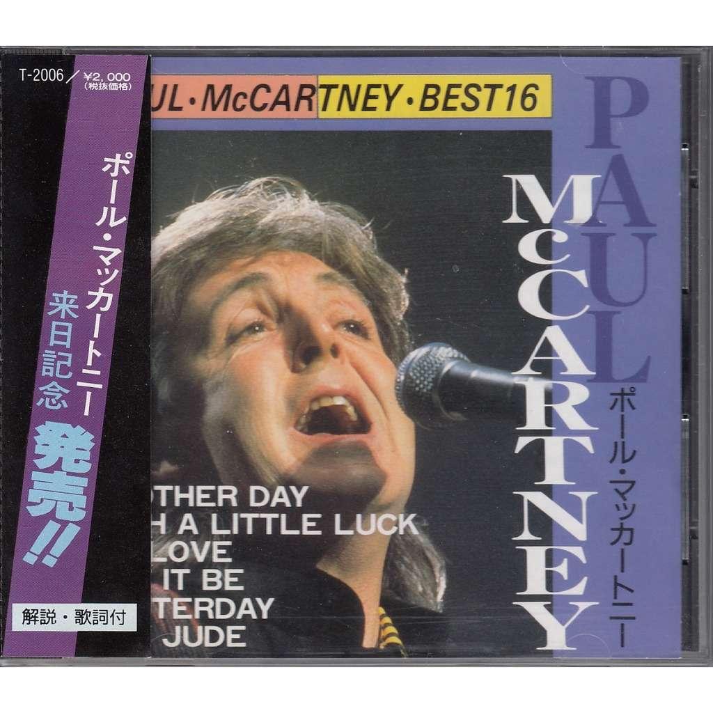 Beatles Paul McCartney Best 16