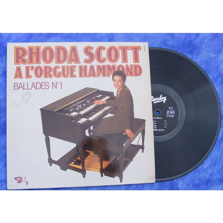 Rhoda Scott à l'orgue Hammond Ballades N°2
