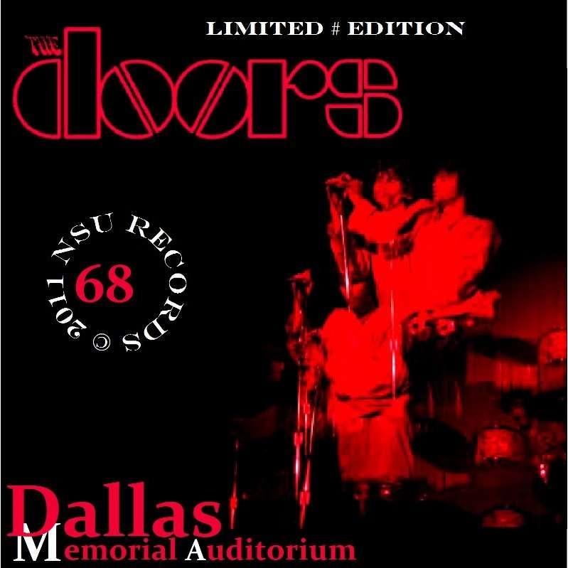 THE DOORS DALLAS MEMORIAL STADIUM 1968 AUG 9 CD  sc 1 st  CD and LP & Dallas memorial stadium 1968 aug 9 cd by The Doors CD with zorro800 ...