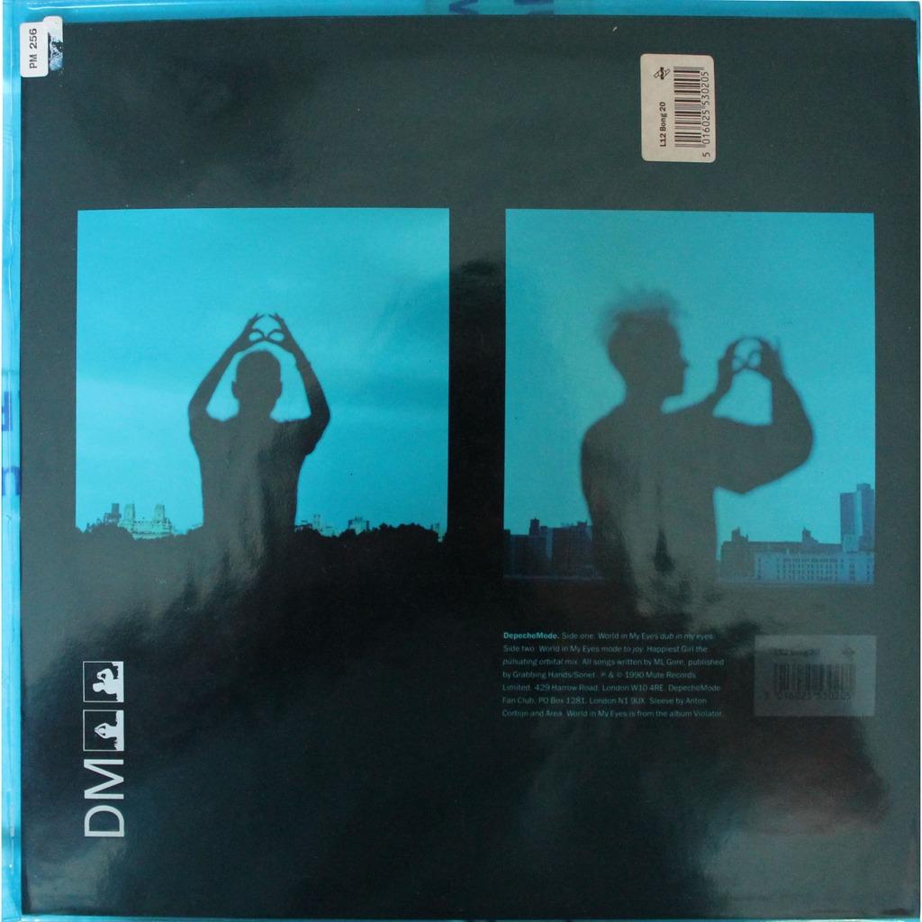 depeche mode world in my eyes - photo #12