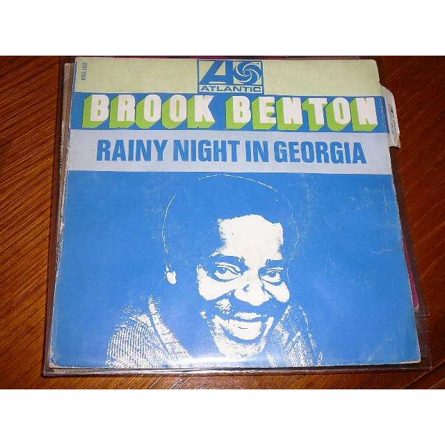 brook benton rainy night in georgia, where do i go from here?
