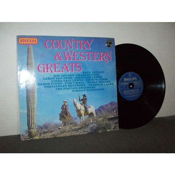 VARIOUS ARTISTS COUNTRY & WESTERN GREATS