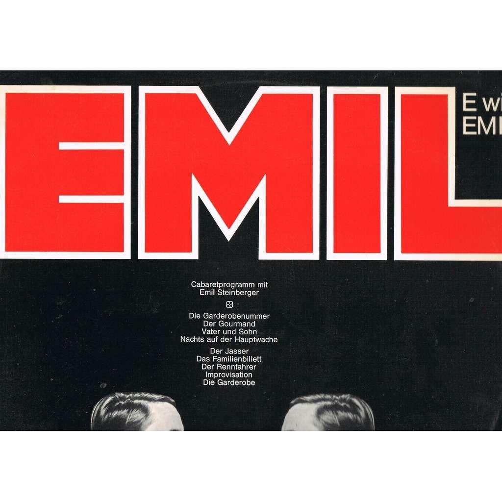 E Wie Emil By Emil Steinberger Lp With Lerayonvert Ref