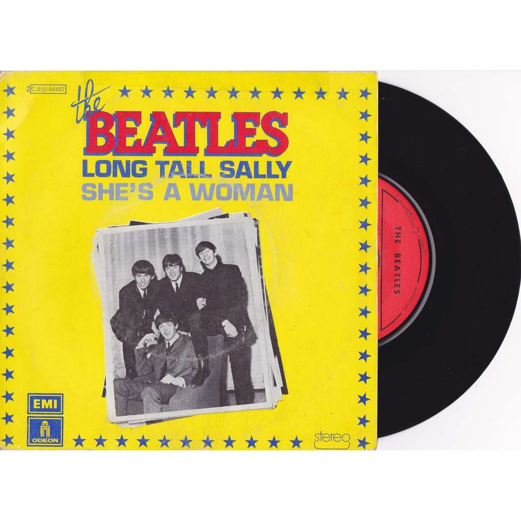 BEATLES LONG TALL SALLY / she's a woman