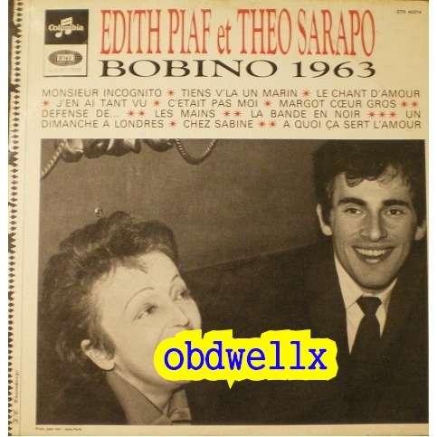 PIAF Edith et Theo SARAPO  Bobino 63