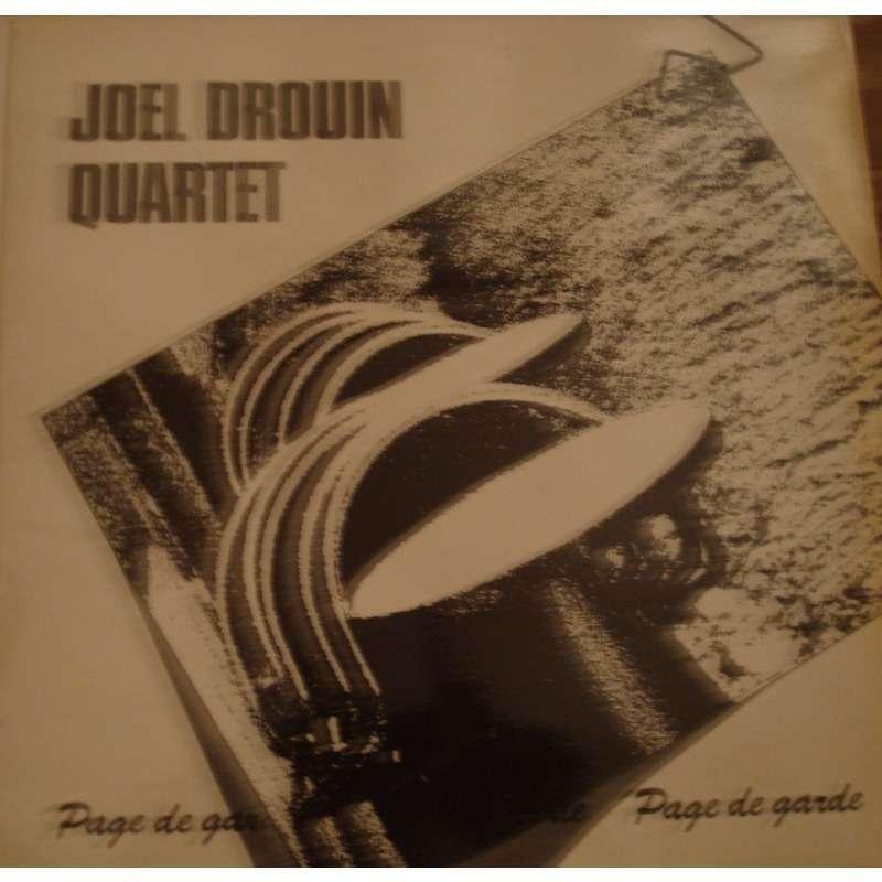 Quartet Joel Drouin Page De Garde