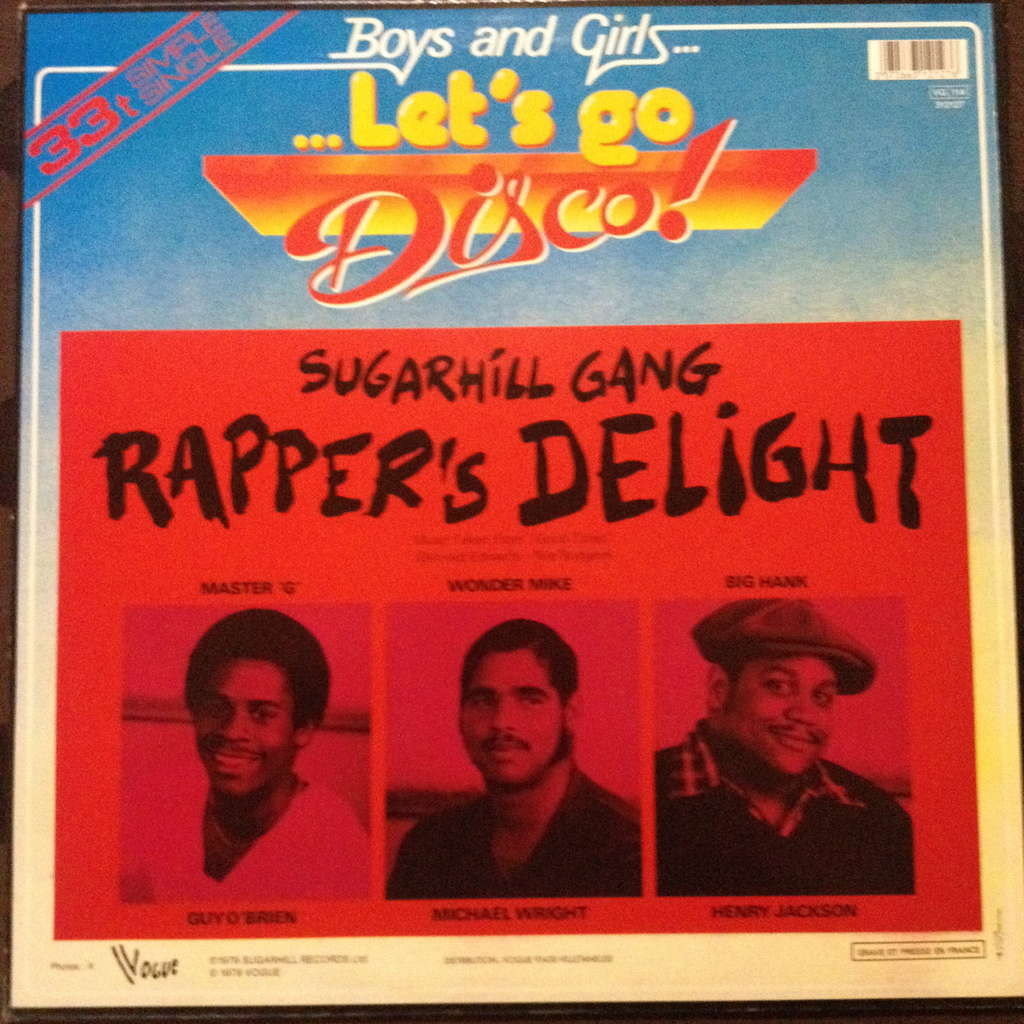 Sugarhill Gang Rappers Delight Rappers Reprise