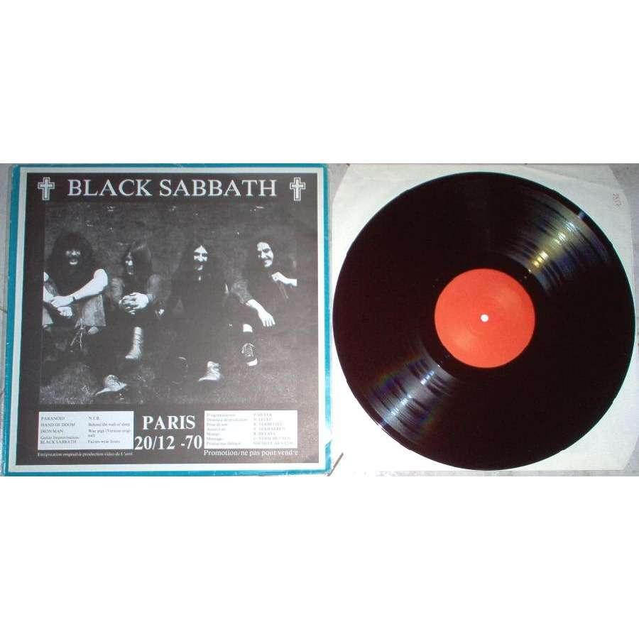 Black Sabbath Paris 20.12.70