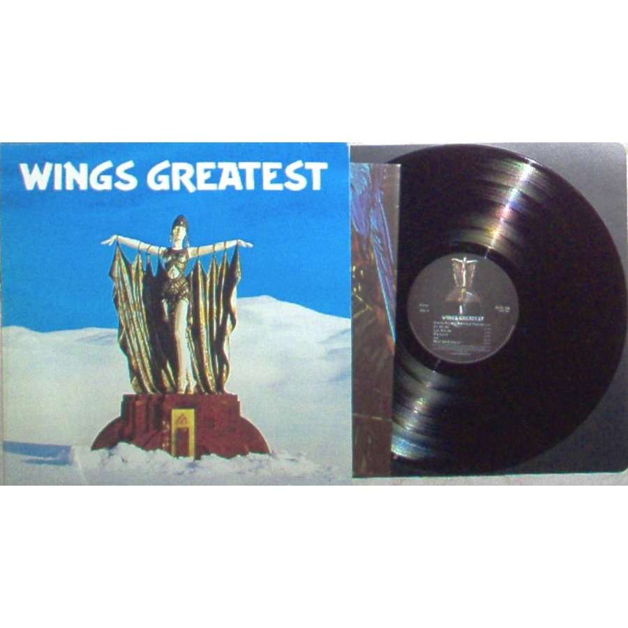 Beatles / Paul McCartney / Wings Wings Greatest (UK 1978 original Ltd 12-trk LP full ps & poster)