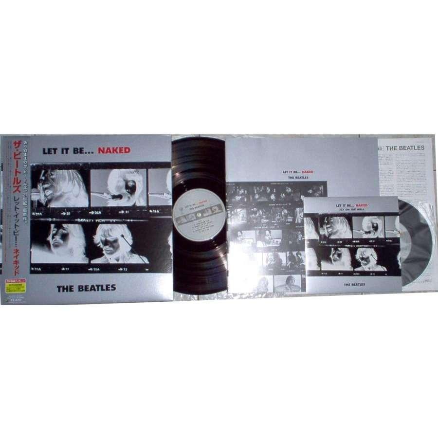 Beatles Let It Be-Naked(Japan 2003 Ltd 11-trk LP full gf ps & obi & insert & booklet & 2-trk 7single)
