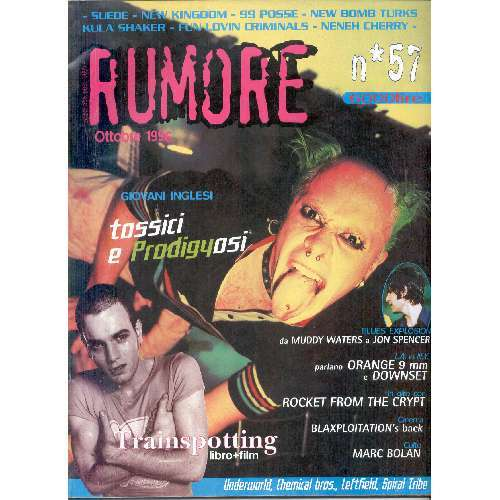 Prodigy RUMORE (N.57 OCT. 1996) (ITALIAN 1996 PRODIGY FRONT COVER MAGAZINE)