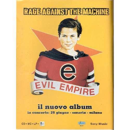 Rage Against The Machine RUMORE(N.53 JUNE 1996)(ITALIAN 1996 MUSIC MAGAZINE)