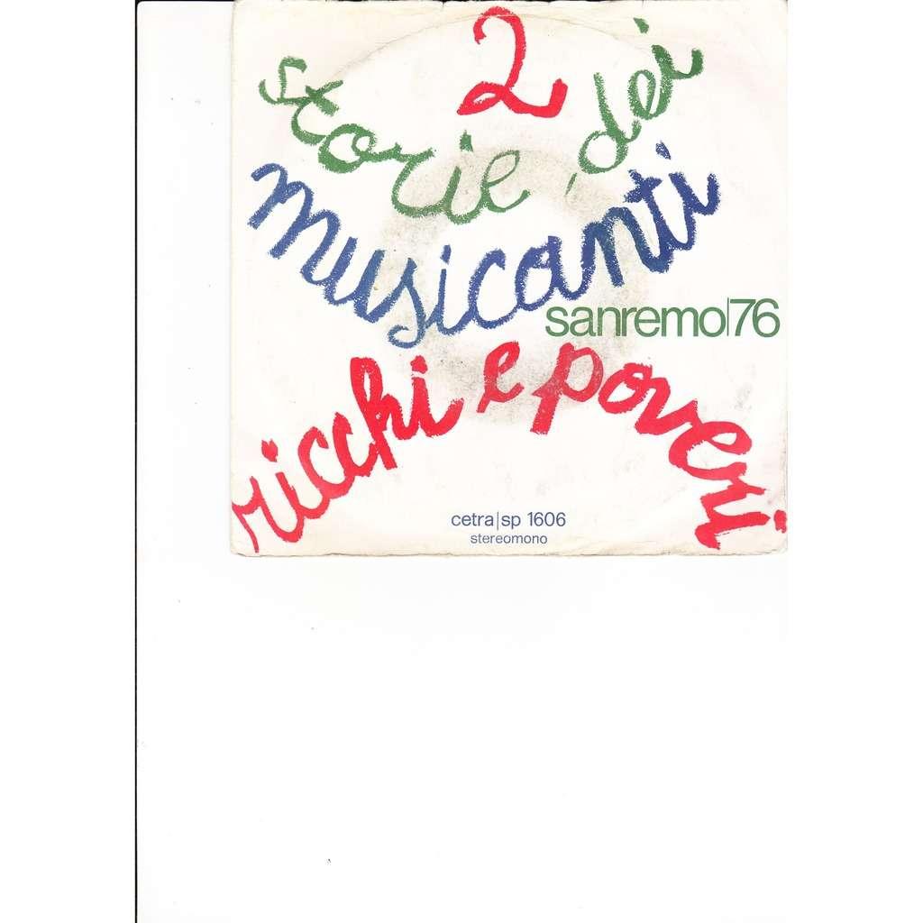 Ricchi & Poveri 2 storie dei musicanti