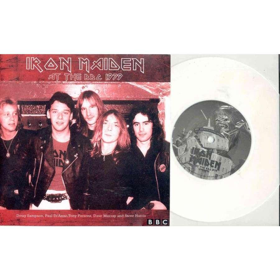 Iron Maiden At The BBC 1979 (Euro Ltd 4-trk 7EP white vinyl unique ps)