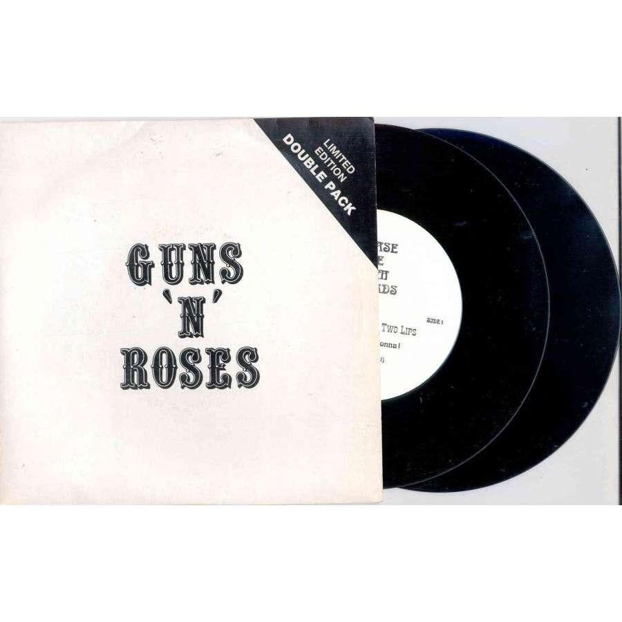 guns n' roses Shotgun And The Two Lips (Euro Ltd 1989 4-trk 2x 7Singles set deluxe ps)