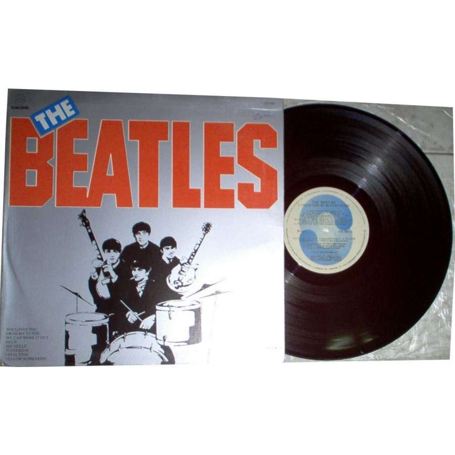Beatles A collection of Beatles Oldies (Brazil 1984 16-trk LP absolutely unique gf ps)