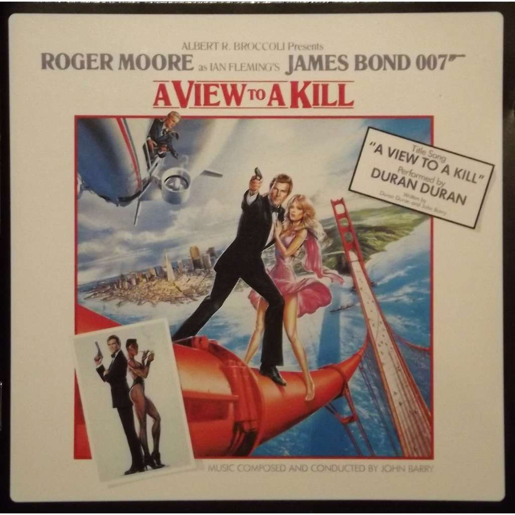james bond a view to kill ost 15 tracks by roger