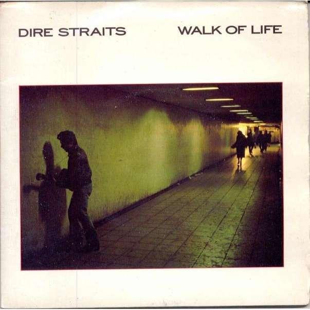 Dire Straits Walk Of Life (UK 1985 Ltd 4-trk 7 double pack full unique gf ps)