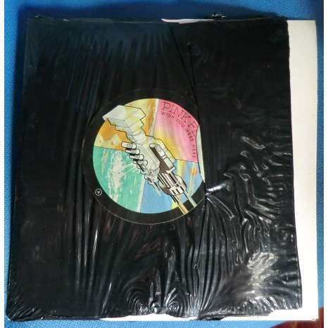 Pink floyd wish you were here original french press cover in shrink without sticker
