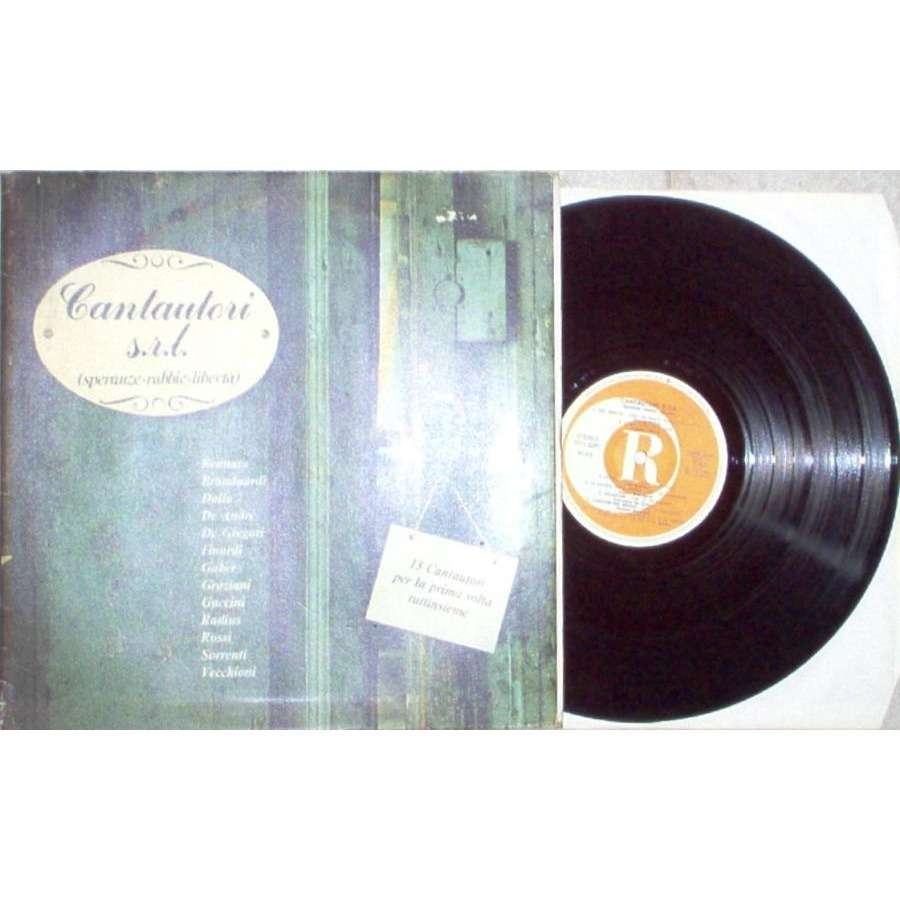 Francesco Guccini Cantautori s.r.l. (Speranze-Rabbie-Liberta) (Italian 1979 13-trk V/A LP full gf ps)