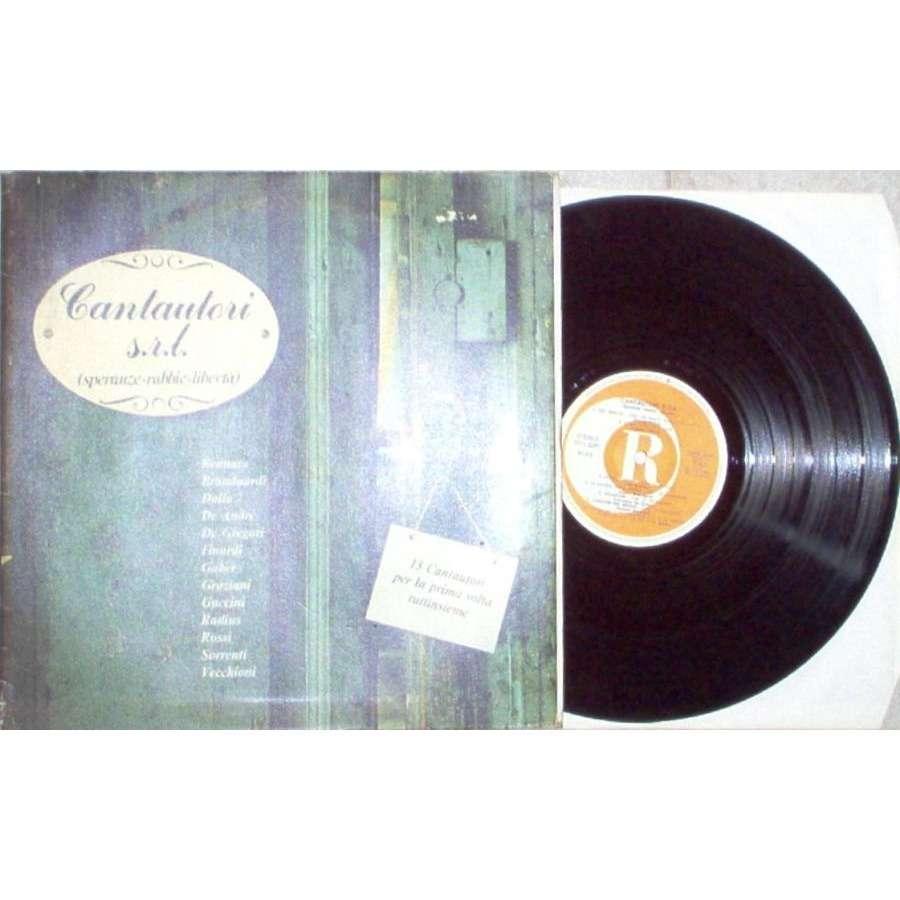 Giorgio Gaber Cantautori s.r.l. (Speranze-Rabbie-Liberta) (Italian 1979 13-trk V/A LP full gf ps)
