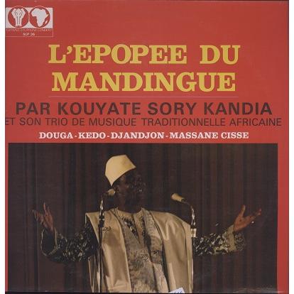 Kouyate Sory Kandia et son trio L'épopée du mandingue vol.1