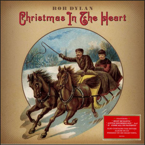 Bob Dylan Christmas in the heart (lp+cd)