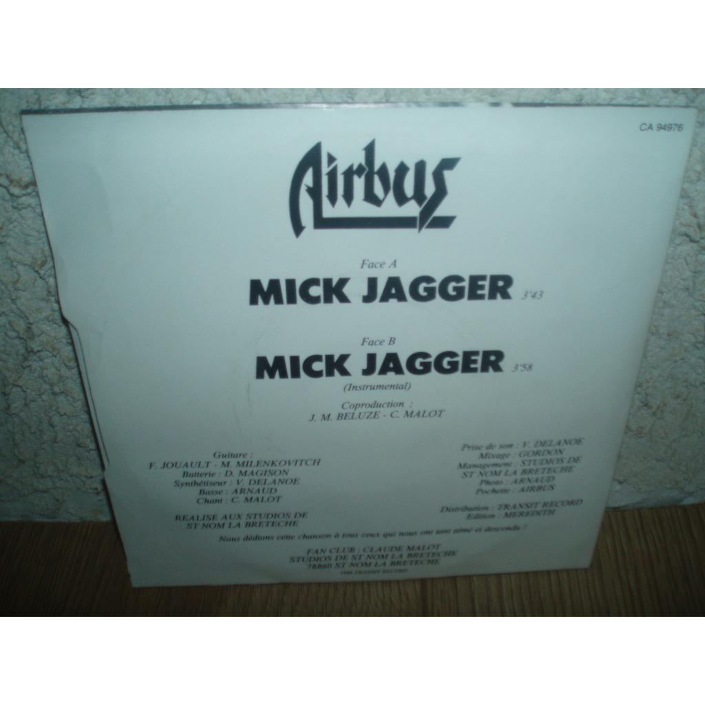 AIRBUS MICK JAGGER / MICK JAGGER
